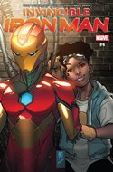 Invincible Iron Man (Vol. 3 2017-2018) (Grapa) #4