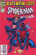 Spiderman 2099 Vol. 2 (1996-1997) (Grapa 24 pp) #3