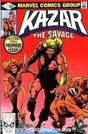 Ka-Zar the Savage Vol 1 (Grapa) #1
