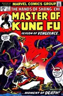 Master of Kung Fu (Comic Book. 1974 - 1983. Continued from Special Marvel Edition #16) #21