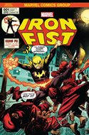 Iron Fist Vol. 5 (2017-2018 Variant Cover) (Comic Book) #1.3