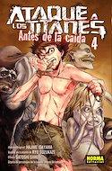 Ataque a los Titanes: Antes de la caída (Rústica con sobrecubierta) #4