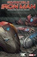 Invincible Iron Man (Vol. 3 2017-2018) (Grapa) #7