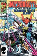 The Micronauts The New Voyages (Comic Book) #7