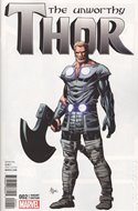 The Unworthy Thor (Variant Cover) (Comic Book) #2.2