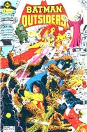 Batman y los Outsiders / Los Outsiders (1986-1988) (Grapa 36 pp) #4