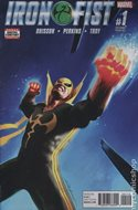 Iron Fist Vol. 5 (2017-2018 Variant Cover) (Comic Book) #1.2