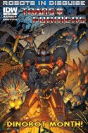 Transformers: Robots in Disguise (Cómic grapa) #8