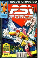 PSI Force (Grapa 24 pp) #8