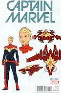 Captain Marvel Vol. 9 (2016 Variant Cover) (Comic Book) #1.3