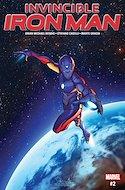 Invincible Iron Man (Vol. 3 2017-2018) (Grapa) #2