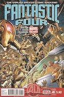 Fantastic Four Vol. 4 (Comic Book) #5AU
