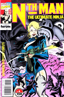 Nth Man. The Ultimate Ninja (Grapa. 17x26. 24 páginas. Color. 1991-1992) #4