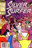 Silver Surfer Vol. 3 (1987-1998) (Comic Book) #4