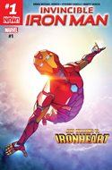 Invincible Iron Man (Vol. 3 2017-2018) (Grapa) #1