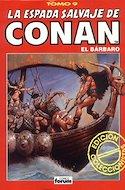 La Espada Salvaje de Conan el Bárbaro. Edición coleccionistas (Rojo) (Cartoné. 192 páginas. B/N. (1997).) #9