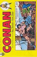 Conan. Los daily-strip comics (1989) (Grapa. 17x26 apaisado. 48 páginas. B/N.) #9