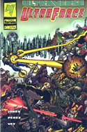Ultraforce (1995-1996) (Grapa. 17x26. 24 páginas. Color) #3