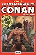 La Espada Salvaje de Conan el Bárbaro. Edición coleccionistas (Rojo) (Cartoné. 192 páginas. B/N. (1997).) #8