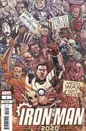 Iron Man 2020 (2020- Variant Cover) (Comic Book) #1.5