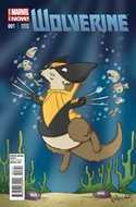 Wolverine (2014 Variant Cover) (Comic Book) #1.1
