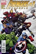 Avengers Assemble Vol. 2 (2012-2014 Variant Cover) (Comic Book) #1.2