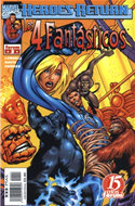 Los 4 Fantásticos Vol. 3 (1998-2001). Heroes Return (Grapa 24-48 pp) #3