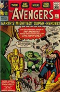 The Avengers Vol. 1 (1963-1996) (Grapa) #1