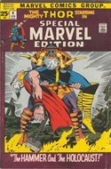 Special Marvel Edition (Comic Book. 1971 - 1974. Renamed and continued as Master of Kung Fu with issue 17) #4