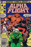 Alpha Flight vol. 1 (1983-1994) (Comic Book) #2