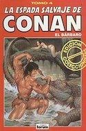 La Espada Salvaje de Conan el Bárbaro. Edición coleccionistas (Rojo) (Cartoné. 192 páginas. B/N. (1997).) #4