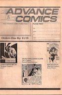 Advance comics (Revista en blanco y negro.) #1
