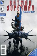 Batman / Superman (2013-2016 Variant Cover) (Comic Book) #1.2