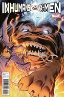 Inhumans vs. X-Men (Variant Cover) (Comic Book) #0