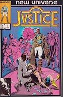 Justice. New Universe (1986) (Grapa.) #1