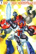 Micronauts (2016-2017 Variant Cover) (Comic Book) #1