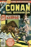 Conan The Barbarian Annuals (1973-1987) (Grapa, 48 págs.) #4