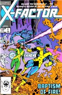 X-Factor Vol. 1 (1986-1998) (Comic Book) #1