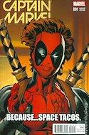 Captain Marvel Vol. 9 (2016 Variant Cover) (Comic Book) #1.4
