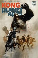 Kong on the Planet of the Apes (Comic-book) #3