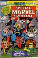 Special Marvel Edition (Comic Book. 1971 - 1974. Renamed and continued as Master of Kung Fu with issue 17) #3