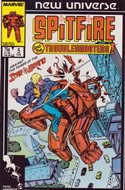 Spitfire and the Troubleshooters / Codename: Spitfire (Comic-book) #5
