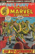 Special Marvel Edition (Comic Book. 1971 - 1974. Renamed and continued as Master of Kung Fu with issue 17) #8