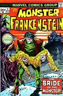 The Frankenstein monster (Grapa) #2