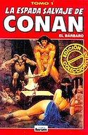 La Espada Salvaje de Conan el Bárbaro. Edición coleccionistas (Rojo) (Cartoné. 192 páginas. B/N. (1997).) #1